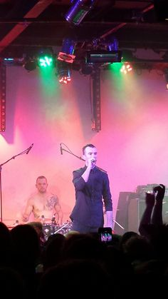 Ian Kenny and Steve Judd from Aussie band Karnivool.