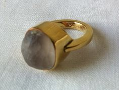 Fair trade Cambodia. Recycled brass bomb shell natural stone ring, ethically handmade by disadvantaged home based workers.#recycled#reuse#upcycle#Eco-friendly#fairtrade#handmade#ring#gifts
