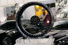 Info: Glass Rims $5000 Dlls. per Wheel Buick Riviera Donk Glass Rims by ~TheCarloos on deviantART The D'Vinci Forgiato Radurra wheels are made from polycarbonate and are totally transparent w…