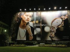 Emporio Armani Ads in #Milan, Italy