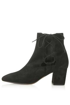 MADRID Ghillie Side Tie Boots - Topshop