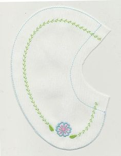Pockets & Collars :: Embroidery Flower Collar Size1