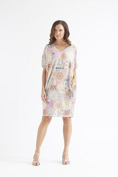 Bombay Cocoon Tunic Dress