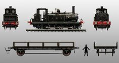 Industrial Line Train - Characters & Art - Assassin's Creed Syndicate