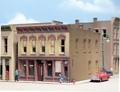 Hayes Hardware - N Scale Kit - N Scale - Woodland Scenics - Model Layouts, Scenery, Buildings and Figures N Scale Buildings, Model Building Kits, Roofing Materials, Model Train Layouts, Model Trains, Entry Doors, Plastic Models, Woodland, Mansions