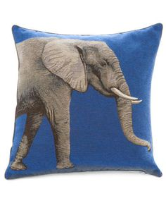 big solo tapestry pillow - yves delorme