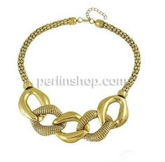 Zinklegierung Halskette, mit Verlängerungskettchen von 1lnch