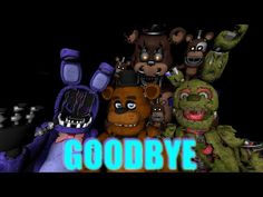"[SFM FNAF SONG] ""Goodbye"" by TryHardNinja (Collab) - YouTube"