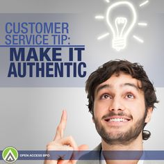 Having an authentic #CustomerService style lets your business devise a unique customer experience that your consumers can genuinely value.