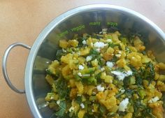Same Veggie Many Ways: Vaishnav mooli sambharia - radish with fenugreek s...