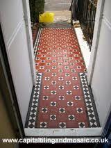 victorian tiles - Google Search Hall Tiles, Victorian Tiles, Entrance Hall, Stairs, Flooring, Google Search, Architecture, Home Decor, Arquitetura