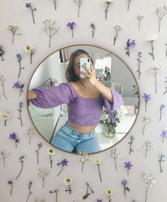 Her Reflection Dot Top Cute Room Decor, Teen Room Decor, Room Ideas Bedroom, Bedroom Decor, Bedroom Small, Dorm Room Themes, Indie Room, Room Goals, Aesthetic Room Decor