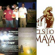 El SiTiO MaYa ganador del Primer Lugar en la Feria Regional Gastronomica de Tepotzotlan