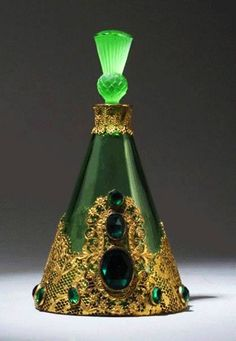 Czech Hoffman circa 1920 perfume bottle