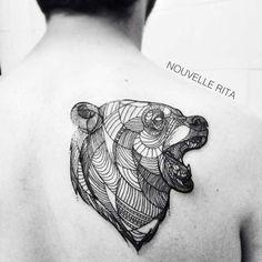 25 Meilleures Images Du Tableau Tatouage Ours Bear Tattoos