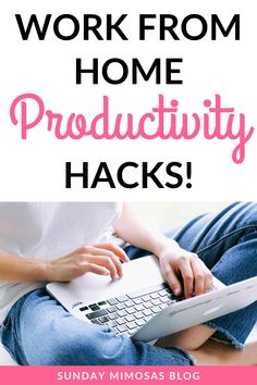 Do you find it hard to be productive when you work from home? Want to check more tasks of your to-do list!? Click here to learn the 7 most effective productivity tips that will allow you to get more done in your day. #productivity #timemanagement #workfromhome