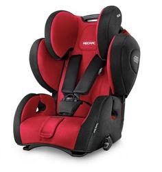 RECARO YOUNG SPORT HERO (SIN ISOFIX) La silla de auto Recaro Young Sport Hero es la propuesta de Recaro para el Grupo 1/2/3. La Young Sport Hero cuenta con un sistema de retención basado en arnés de 5 puntos integrado en 1 pieza con el cabezal para un ajuste simultáneo y siempre perfecto de arnés y cabezal. Es una silla muy confortable y práctica. Tiene posición de reclinado y se instala mediante el cinturón de seguridad del coche.