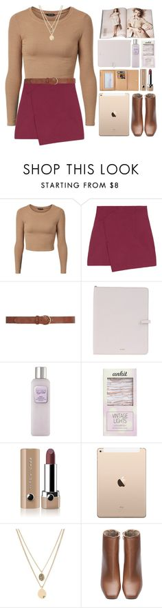 """""""☺"""" by alxmee ❤ liked on Polyvore featuring Dorothy Perkins, Nude, Jil Sander, Laura Mercier, Streamline NYC, Louis Vuitton, Marc Jacobs and Kenneth Cole"""