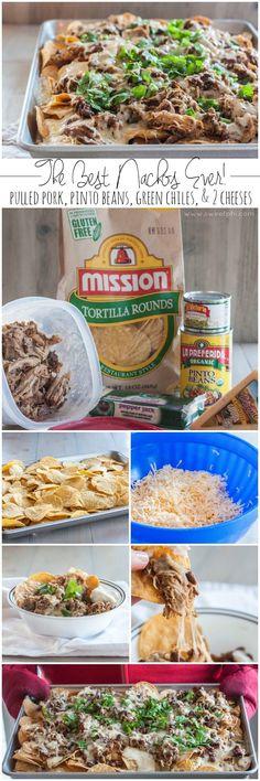 Cinco de Mayo meets southern comfort food. Pulled pork nachos. #cincodemayoya'll