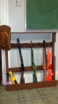 Lil' boys gun rack