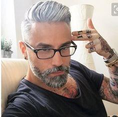Older Mens Hairstyles, Modern Hairstyles, Menu0027s Haircuts, Modern Mens  Haircuts, Men Hair Styles, Boy Hair, Menu0027s Eyewear, Male Hair, Silver Hair