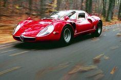STORMWHEELS: Autunno italiano - Alfa Romeo tra le foglie - 33 S...