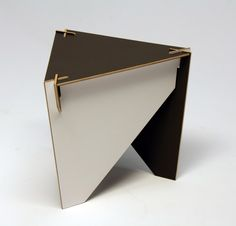 flat pack stool or end table