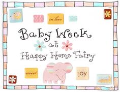 Baby Week baby shower games