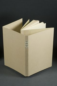 Archival sewn board binding by Gary Frost: