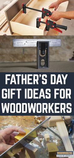Looking for the perfect gift for the woodworker in your life? With Father's Day right around the corner, this is timely. But whatever the event, your favorite woodworker is certain to love these gift ideas.