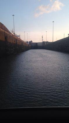 Gatun Locks Crossing!