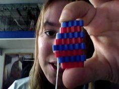Last video! Good luck with the weaving! Peyote Beading, Beadwork, Bead Crafts, Arts And Crafts, Pixel Beads, Diy Ideas, Craft Ideas, Bead Weaving, Perler Beads