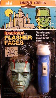Monstrum hominis — AHI Universal Monsters Flasher Faces (1979)
