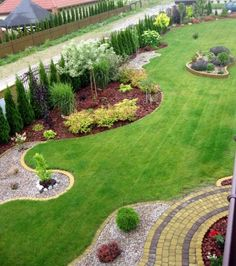 Amazing Fresh Frontyard and Backyard Landscaping Ideas Enjoy collection frontyard styles and give me find your thoughts about this garden design ideas. -Enjoy collection frontyard styles and give me find your thoughts about this garden design ideas. Backyard Garden Design, Garden Landscape Design, Landscape Designs, Desert Backyard, Landscape Architecture, Landscape Bricks, Front Yard Landscaping, Backyard Landscaping, Landscaping Ideas