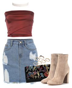 """""""Untitled #92"""" by iceaafish ❤ liked on Polyvore featuring Romeo Gigli, Yves Saint Laurent, Gianvito Rossi, Humble Chic and ASOS"""