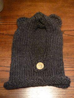 Black bear cowl $15 toddler size