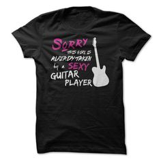 This Girl Is Taken By a Sexy Guitar Player