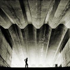 Sydney Opera House  under construction; photo by Max Dupain, 1962