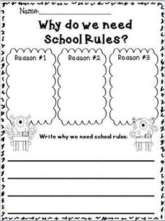 Why we need school rules