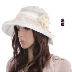 Ladies summer sun hat Korean Style Princess Hat Luxury UV cap bucket hat wholesale beach cap 100% cotton 4 colors in stock 8pcs-in Apparel & Accessories on Aliexpress.com