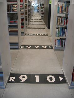 Dewey Decimal at work at the Seattle Public Library - Index by get down, via Flickr