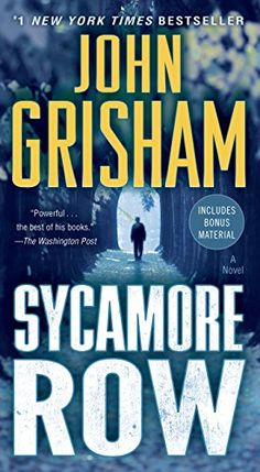 Sycamore Row: A Novel (Jake Brigance) - Kindle edition by John Grisham. Mystery, Thriller & Suspense Kindle eBooks @ Amazon.com.