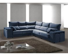 Couch, Furniture, Home Decor, Shopping, Dark Blue, Blue Nails, Houses, Mothers, Settee