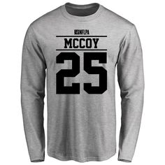 LeSean McCoy Player Issued Long Sleeve T-Shirt - Ash