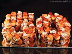 Gâteau d'anniversaire façon croquembouche