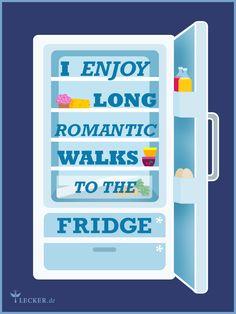 Hach ... und wenn im Kühlschrank coole Kuchen auf einen warten, ist der Weg gleich doppelt schön.
