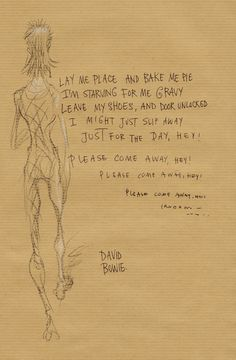 chrisriddellblog:The Bewlay Brothers by David Bowie