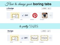 Sunny by Design: How to change your Facebook Page Tab image