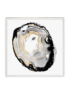 Natural Curiosities Geode Print