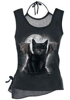 Bat Cat - Top - Spiral